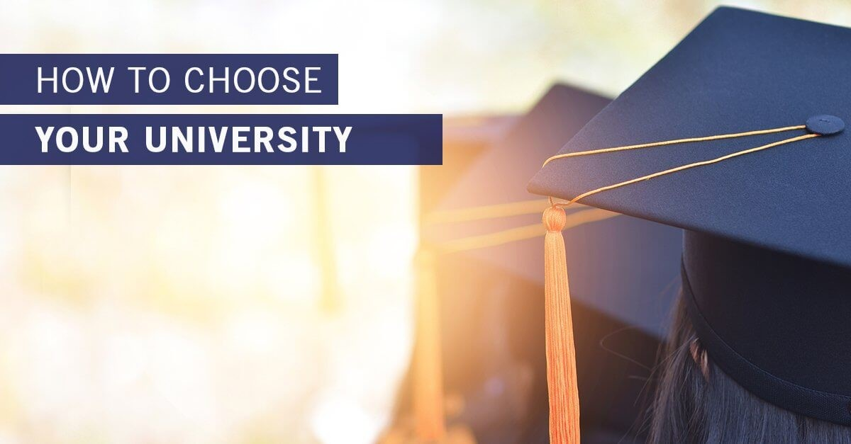 Six Tips on How to Choose a University